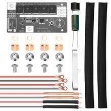 Caneta de solda de ponto portátil, diy, 12v, armazenamento de bateria, placa de circuito pcb, equipamento de soldagem a ponto, caneta