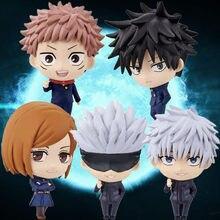 5pcs Anime Jujutsu Kaisen Gojo Satoru Kugisaki Figure Action Figure Modle Toys