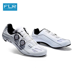 Image 1 - FLR Road Professional Road Bike SPD Carbon Cycling Shoes Racing Shoes  Fiber Road Bike Shoes Athletic Bicycle Sports Shoes FXX