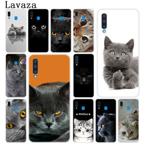 Lavaza British Shorthair cat Top Meow Phone Cover Case for Samsung Galaxy A70 A60 A50 A40 A30 A20 A10 M10 M20 M30 M40 A20e Cover(China)