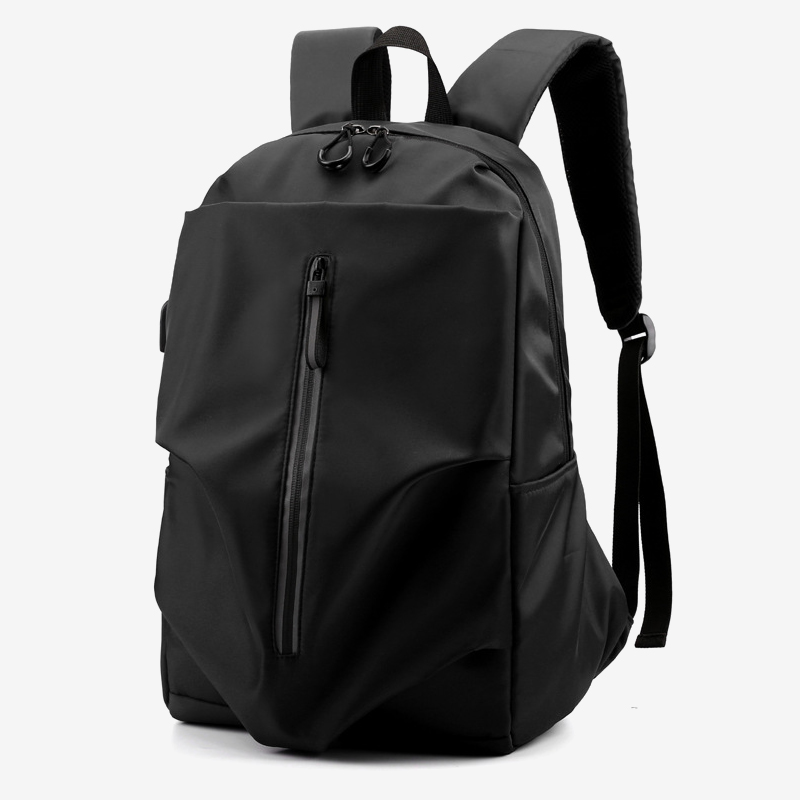 Laptop Backpack Men USB Charging Waterproof Travel Oxford Backpacks High Quality Solid Color Famous Brand Male Female School Bag