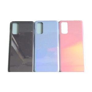 Оригинальный Корпус S 20 для Samsung Galaxy S20, запасная крышка аккумулятора, задняя дверь телефона, задняя крышка с логотипом