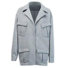Vertical Womens Striped Jacket Stripe Blazers Women Casual Pinstripe Bl