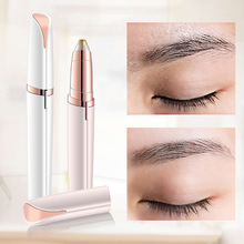 Pen Eyebrow-Trimmer Invisible-Blade Makeup Electric Brows Women New Waterproof Painless