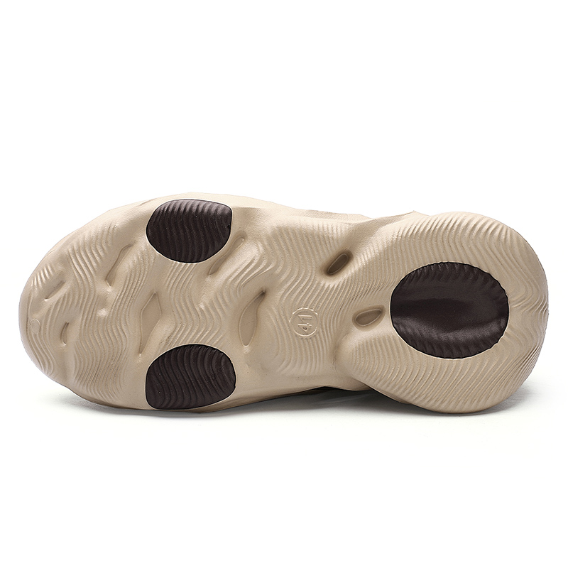 Summer Men's Sandals Slip On Breathable Water Beach Jelly Shoes Fashion Lightweight Yzy Slides Foam Run Men Clogs Big Size 40-45 6