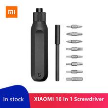 Neue Angekommene Xiaomi Mijia 16 In 1 S2 Ratsche schraubendreher-satz Magazin Design 20N.m Dual Kopf Schraube Fahrer Reparatur Werkzeug Für Geschenk