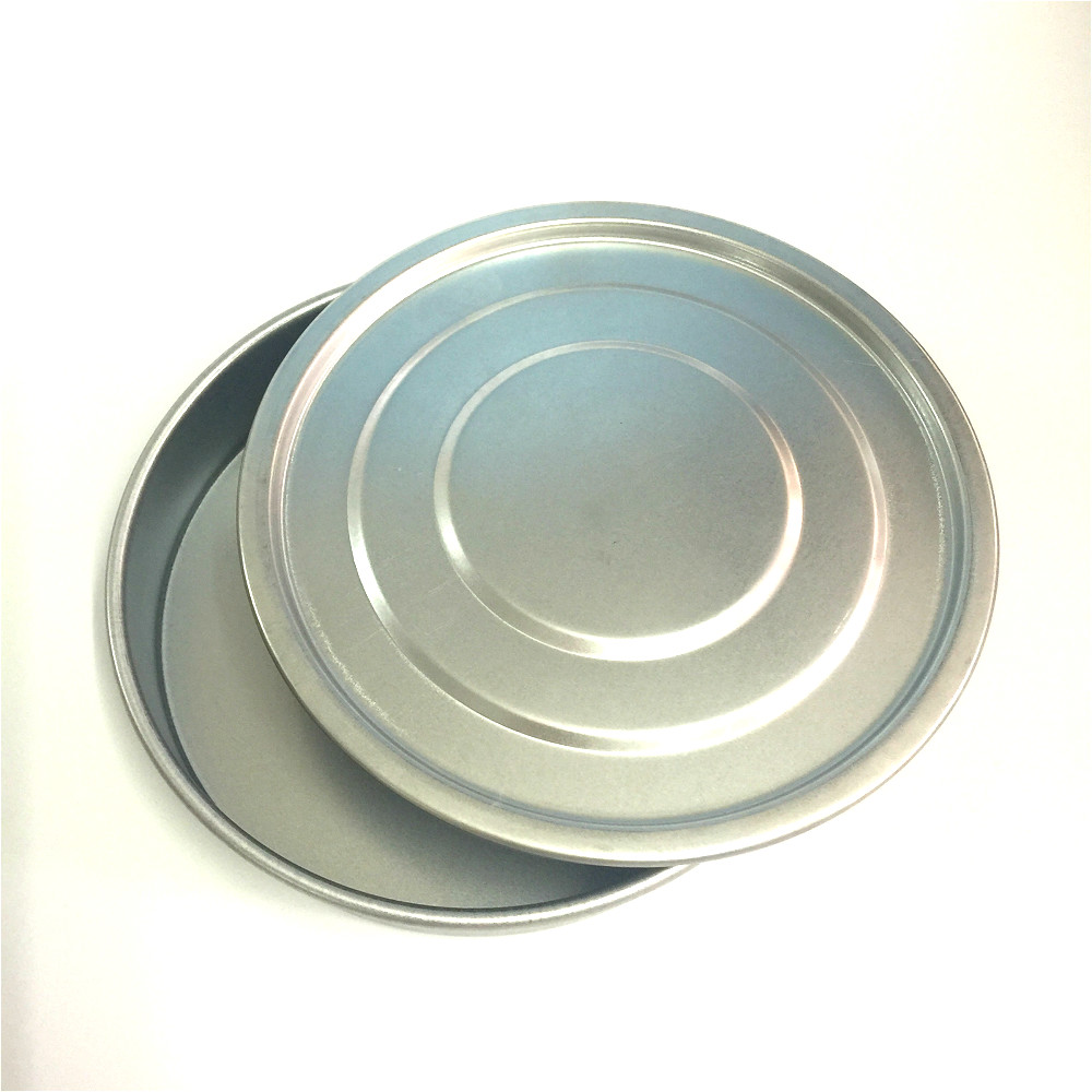 Lid And Bottom For Test Sieve Dia 10 Cm Galvanized Cover And Container For Laboratory Sampling Inspection Pharmacopeia Sieve