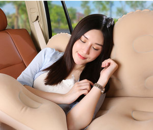 Image 4 - Fresh Car inflatable bed travel mattress car child rear exhaust pad car rear seat car