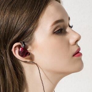 Image 5 - KZ ZS10 4BA + 1DD hybride dans loreille écouteur HiFi écouteur bouchon doreille casque écouteurs suppression de bruit DJ professionnel écouteur AS10 ZST