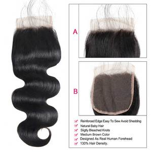 Image 5 - Ishow Hair Bundles and Closure Body Wave Bundles with Closure Brazilian Hair Weave Bundles with Closure Good For 4x4 Closure Wig