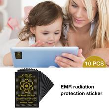 EMR Mobile Phone Anti - Radiation Stickers Quantum High Release Negative Ion Protection