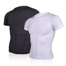 Men's Slimming Shaper Posture Vest Male Belly Abdomen For Corrector Compression Body