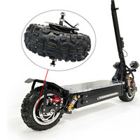 High Quality Powerful Tire for Electric Scooter 60V 1600W Wheel Electric Skateboard Accessories Motor Off Road/Road Tire Scooter