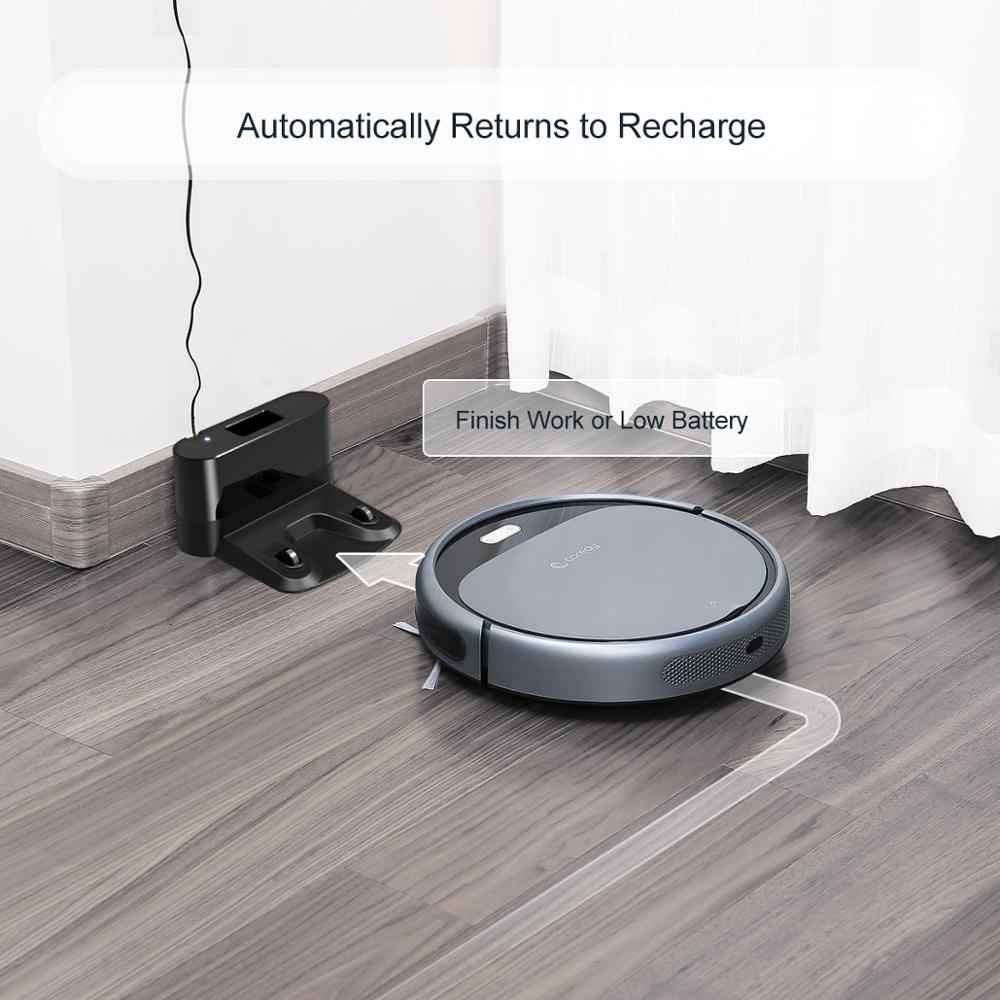 Coredy R300 Roboter Staubsauger Smart Boden Reinigung Kehr Vakuum Auto Lade Staub Aspirador hause Robotic odkurzacz Hartböden und Teppiche mit Ladestation 1400Pa Saugkraft Superchlank Leise Roboterstaubsauger Tierhaare