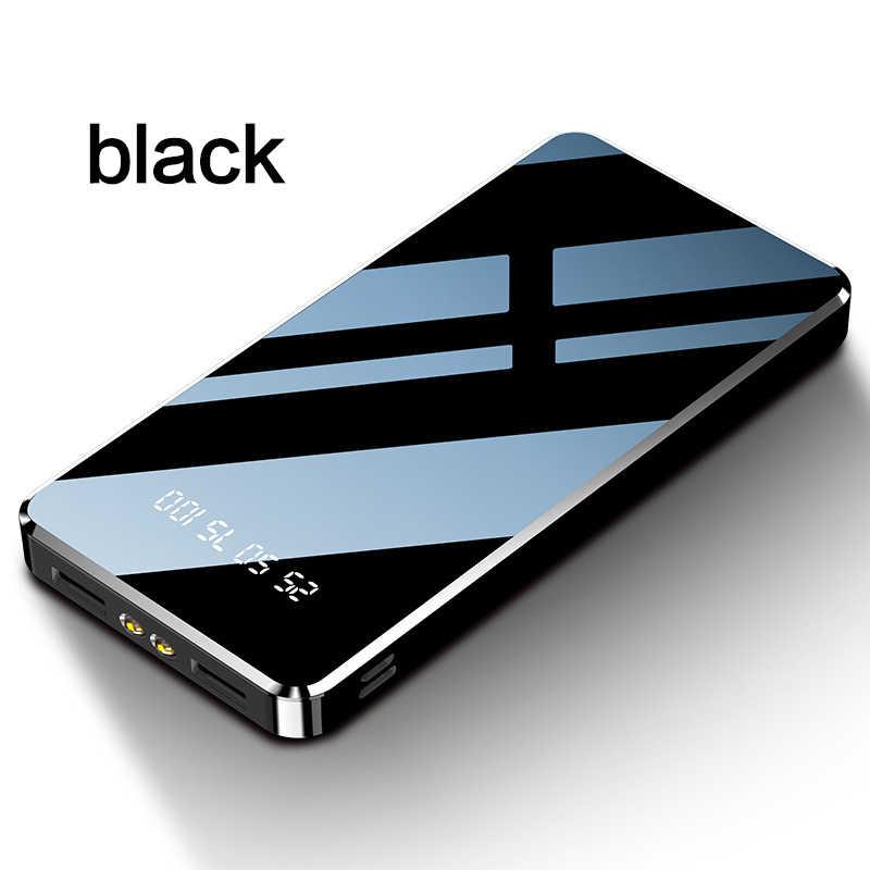 Banco de energía de carga rápida 20000mAh banco de energía Delgado banco de energía portátil externo cargador de batería para Xiaomi mi 9 8 iPhone 11 Pro Max