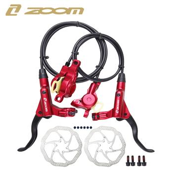 ZOOM HB-875 hamulec rowerowy hamulec mtb hydrauliczny hamulec tarczowy 800 1400 1450 1550mm MT200 górski hamulec rowerowy Upgrade MT315 MT615 tanie i dobre opinie CN (pochodzenie) HB-875 MT200 Hydrauliczny hamulec tarczowy (hydrauliczny hamulec pad) Światło stopu Rowery górskie black red