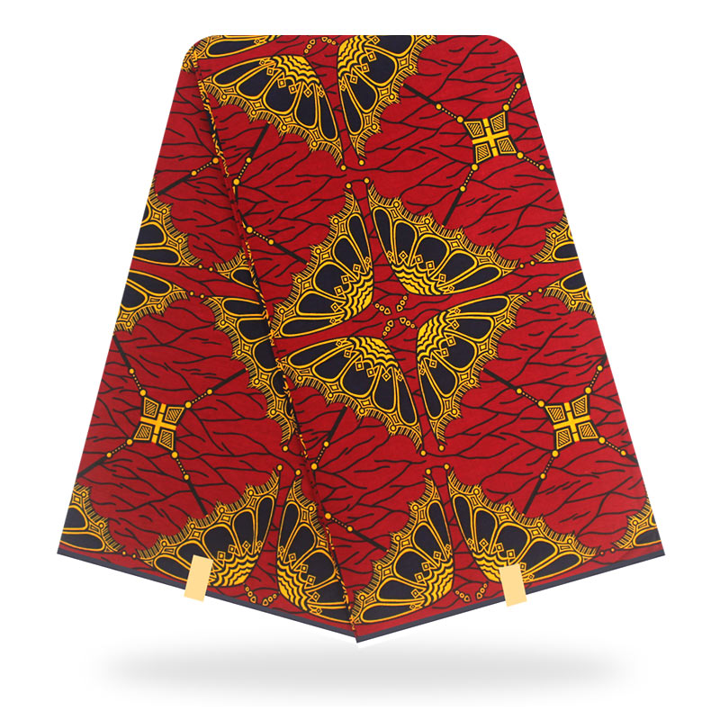 Ankara Fabric Original Real Wax 2020 High Quality New African Print Fabric Tissue African 100% Cotton 6 Yards Of Wax Fabric