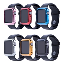 For Apple Watch Case Protector Cover 38mm/42mm TPU Soft Protective Skin Bumper