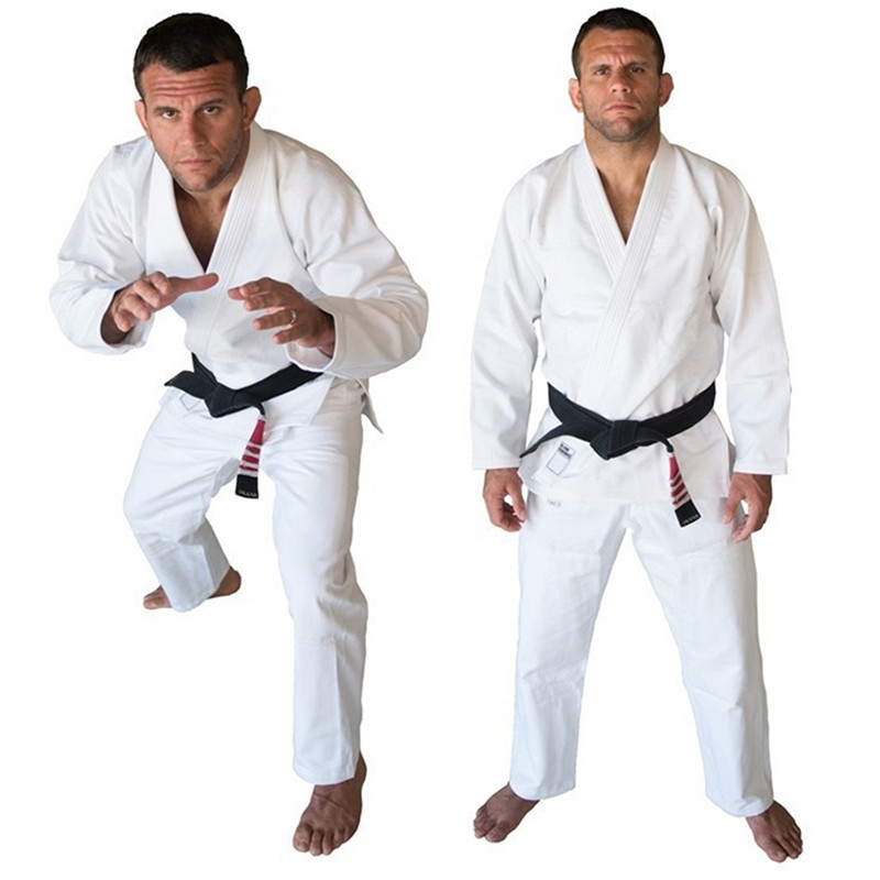 Daddy Chen Brand Fight Wushu Martial Arts Sets Boxing Training Brazil KORAL Brazilian Jiu Jitsu Judo Gi Uniform 3 Colors