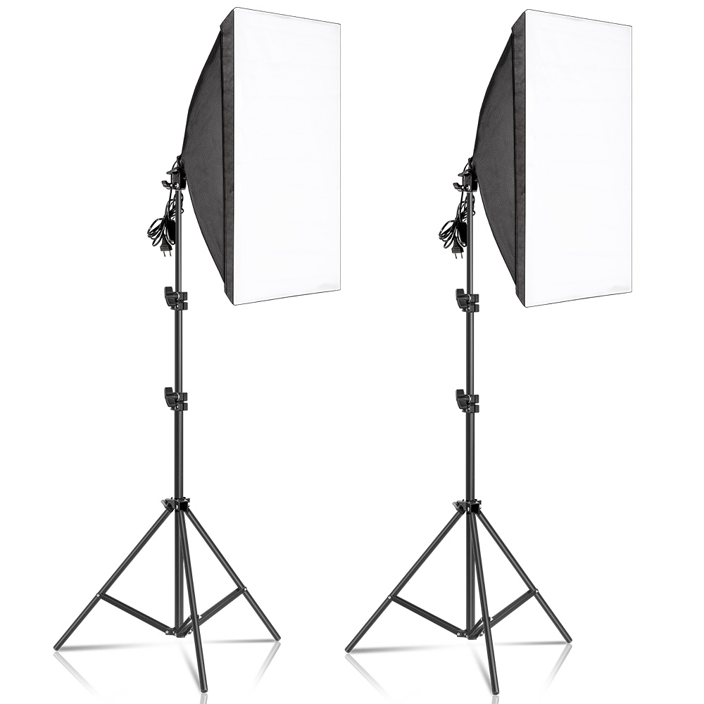 System-Equipment Softbox-Lighting-Kits Continuous-Light Photo-Studio Professional Photography