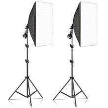 50X70CM Chụp Ảnh Softbox Chiếu Sáng Bộ Dụng Cụ Chuyên Nghiệp Ánh Sáng Liên Tục Hệ Thống Thiết Bị Studio Chụp Ảnh