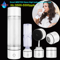 Nano High Rich Hydrogen Generator Smart MRETOH Water Bottle/Cup Super Antioxidants Ionizer Improve Immunity Anti Aging Products
