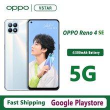 Original OPPO Reno 4 SE 5G SmartPhone 6,43 inch OLED MT6853V Octa Core 65W SuperVOOC 4300mAh GPS