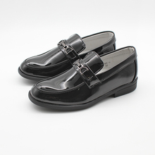 New Big Boys shoes Slip-On Buckle Loafers Kids Boys Formal S