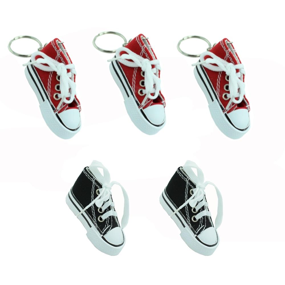 5x Motorcycle Foot Kickstand Mini Shoes Keychain Electrombile Kick Side Stand Shoe Key Chain