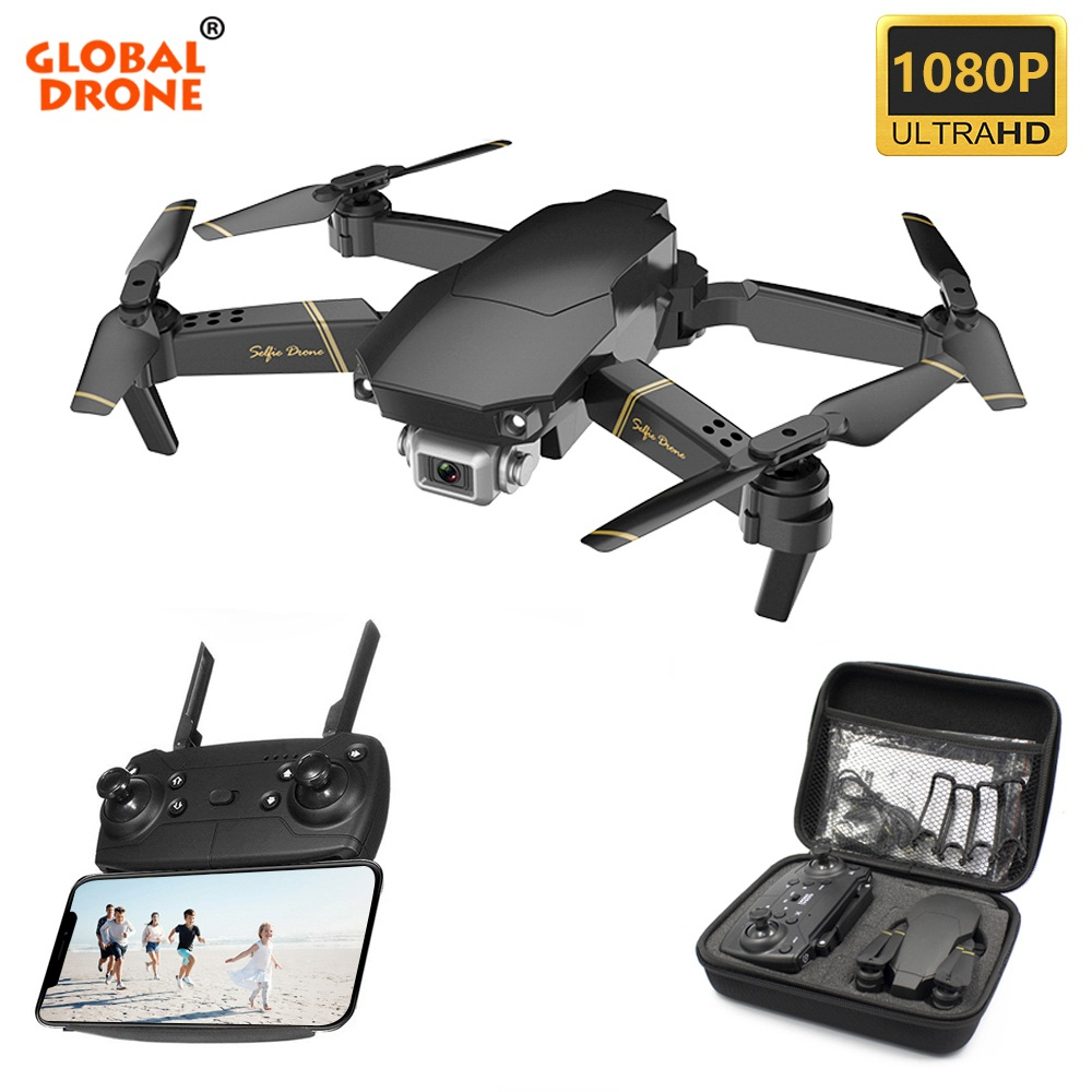 Global Drone EXA Foldable RC Drones with Camera HD Mini Quadcopter High Hold Helicopter Juguetes Quadrocopter Dron VS E58 E520(China)