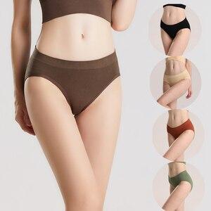 Sexy Women's Panties Comfort Underwear Women Briefs Pants Low-Rise Lingerie Panties