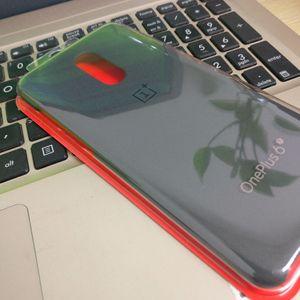 Image 5 - Original Official For OnePlus 6T Genuine Sandstone Karbon Matte Slim Back Skin Hard Case Cover