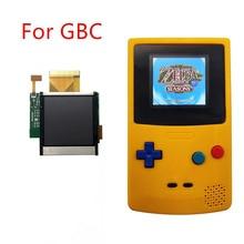 قطع غيار ل GBC الخلفية شاشة LCD عالية تعديل ضوء أطقم ل نينتندو GBC وحدة التحكم LCD شاشة ضوء لعبة الملحقات