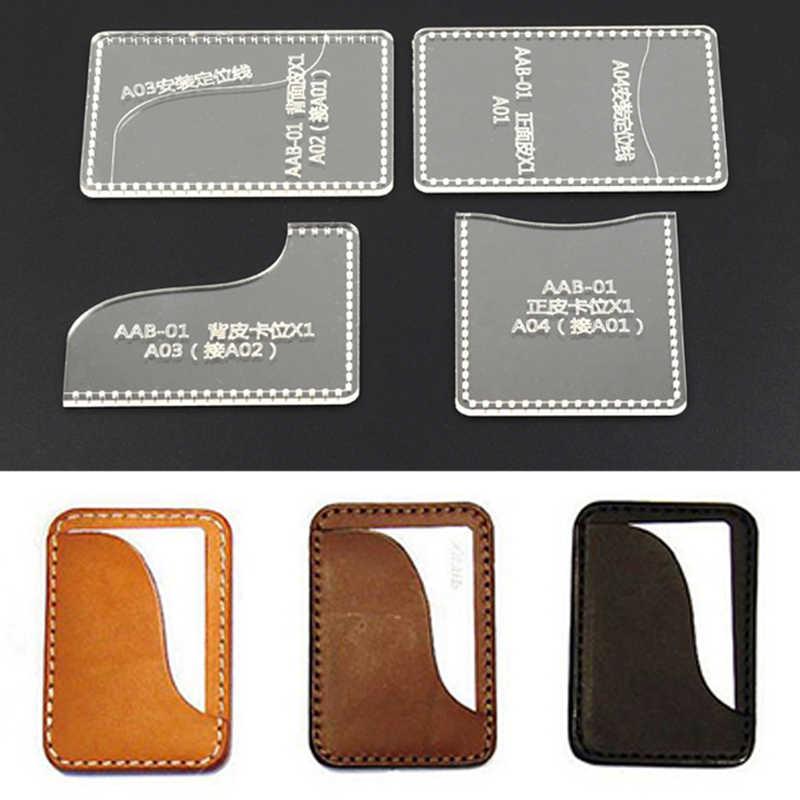 עור בעבודת יד diy עיצוב בעבודת יד לעטוף עור תבנית עובש אקריליק כרטיס חבילת כרטיס עור עובש