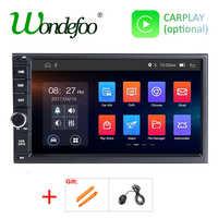 Radio multimedia con gps para coche, radio con reproductor dvd, Android 9,0, 2 DIN, navegador, DSP, para NISSAN universal, 2 DIN