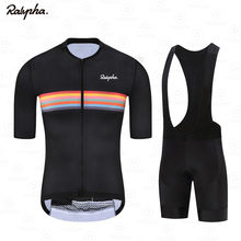 Ralvpha 2021 Summer Pro Team Men's MTB Bike Wear Breathable Mountain Bicycle Clothes Sportwears Cycling Clothing Kits