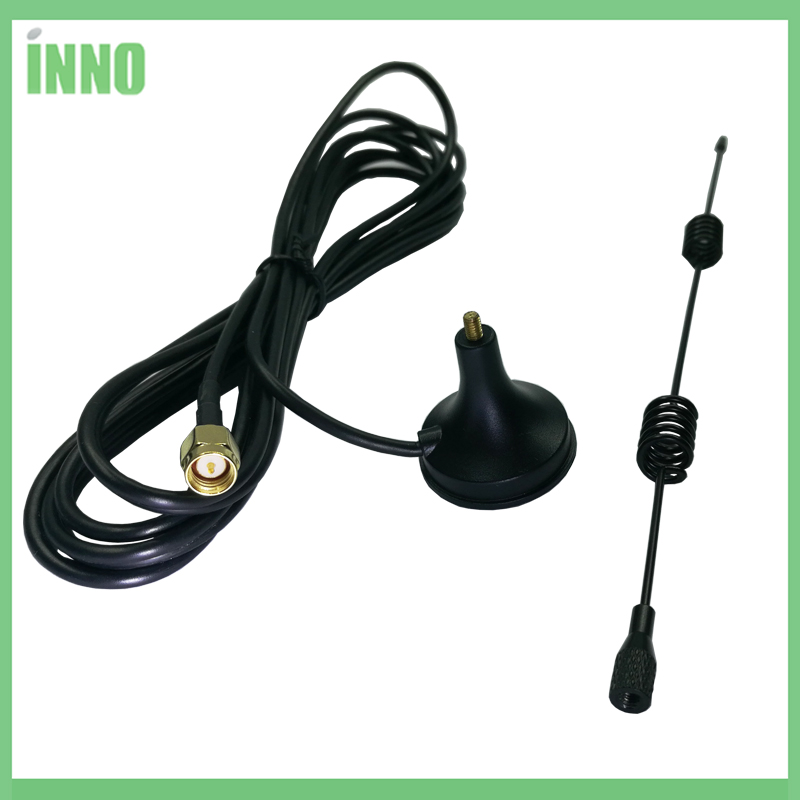 2pcs Wifi 2.4Ghz Antenna 4.5dbi SMA Male Connector 2.4 Ghz Antenne 2.4G Wi Fi With 3m Extension Cable Magnetic Base For Router