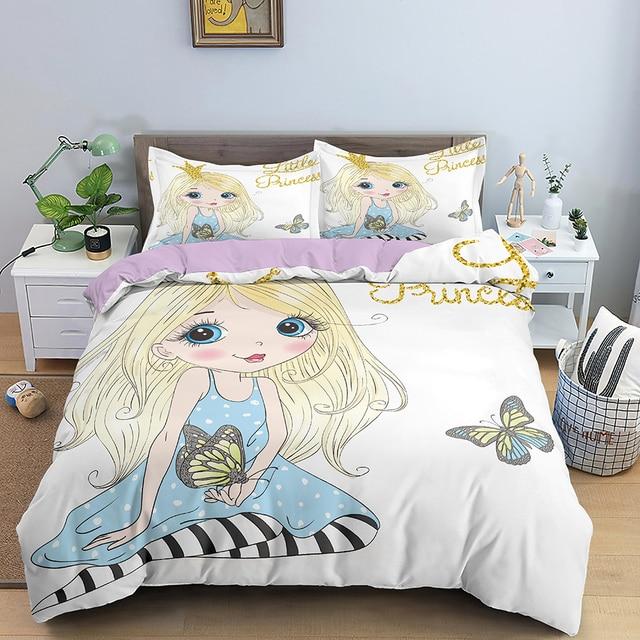 Butterfly Girl Bedding Set 18