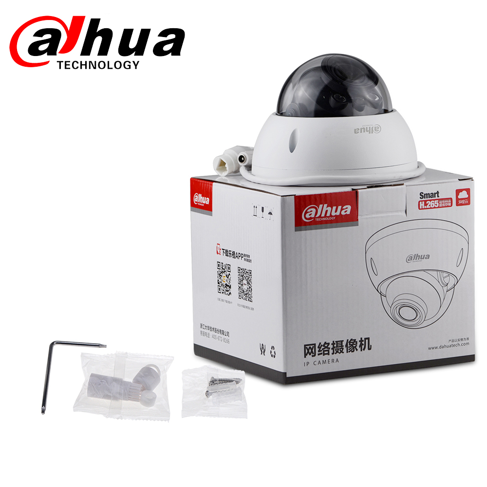 Image 5 - Dahua IPC HDBW4631R ZS 6MP IP Camera CCTV POE Motorized Focus Zoom 50M IR SD card slot Security Network Camera H.265 IK10-in Surveillance Cameras from Security & Protection