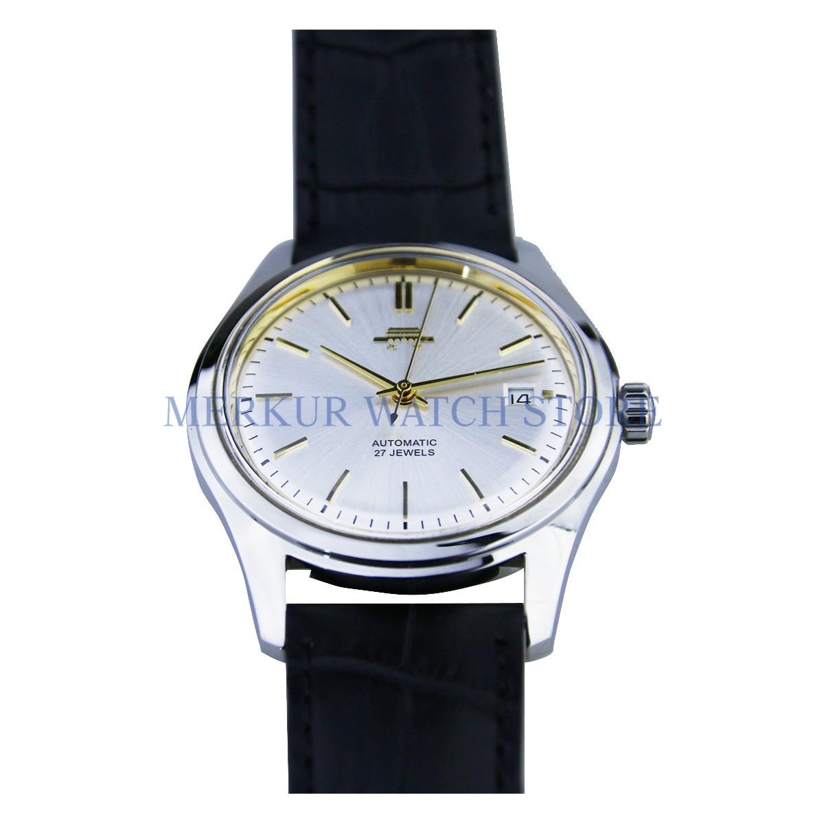 Mens BeiJing SB16 Handwinding Mechanical Reissue Date Dress Watch