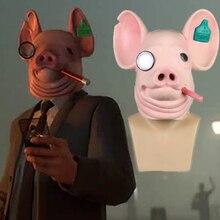 Новые игровые сторожевые таймеры: Легион Косплей Легион Уинстона Свинья Маска король часы с сердечками собаки маски вечеринка Хэллоуин Опора