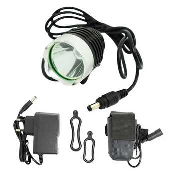 XM-L T6 LED Cycling Bicycle Light Front Headlight Waterproof 1800lm Bike Head Lamp Flashlight 8.4V 18650 Battery Pack + Headband