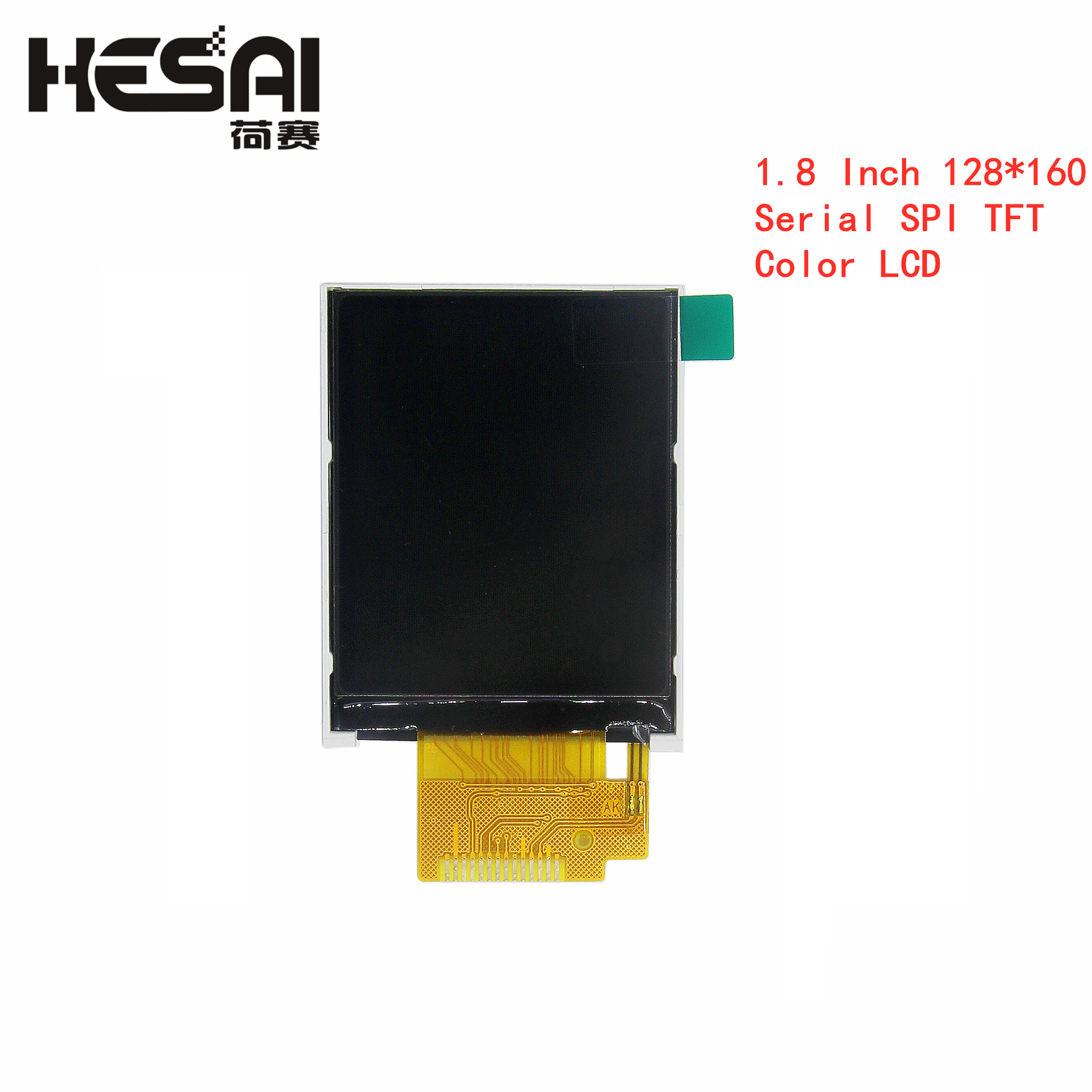 1,8 дюйма 128*160 серия SPI TFT цветной ЖК-модуль 128x160 дисплей ST7735 с SPI интерфейсом 5 IO портов для arduino Diy Kit
