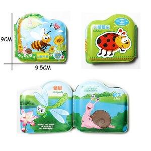 Плавающая детская ванночка, водонепроницаемые книжки для ванной, портативные обучающие игрушки для ванной, обучающие игрушки для детей ясельного возраста