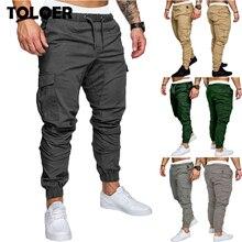 Мужские брюки карго, осень, повседневные, мульти карманы, военные, тактические, мужские армейские брюки, полевые, спортивные, длинные брюки, спортивные штаны