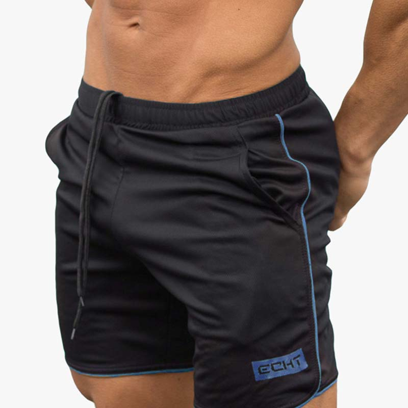 2020 Summer Gym Fitness Shorts Men Bodybuilding Jogging Workout Male Brand Short Pants Causal Breathable Mesh Clothing