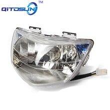 Motorcycle headlamp scooter H4 modified headlight with halogen LED bulb for ADDRESS V125G CF46A LIGHT V125 LIGHT