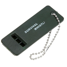 1 PCS Survival Whistle Plastic Travel Kits Super Loud Emergency Whistle для Camping Hiking Children Outdoor Survival Whistle