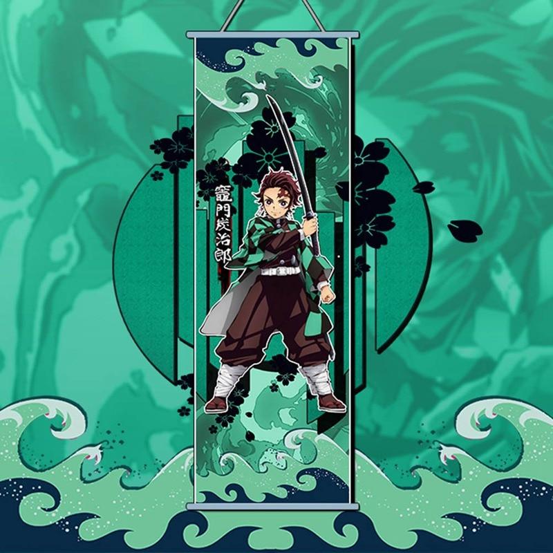 Anime Taimanin Asagi Otaku Home Decor Poster Wall Scroll 150X50CM Gift