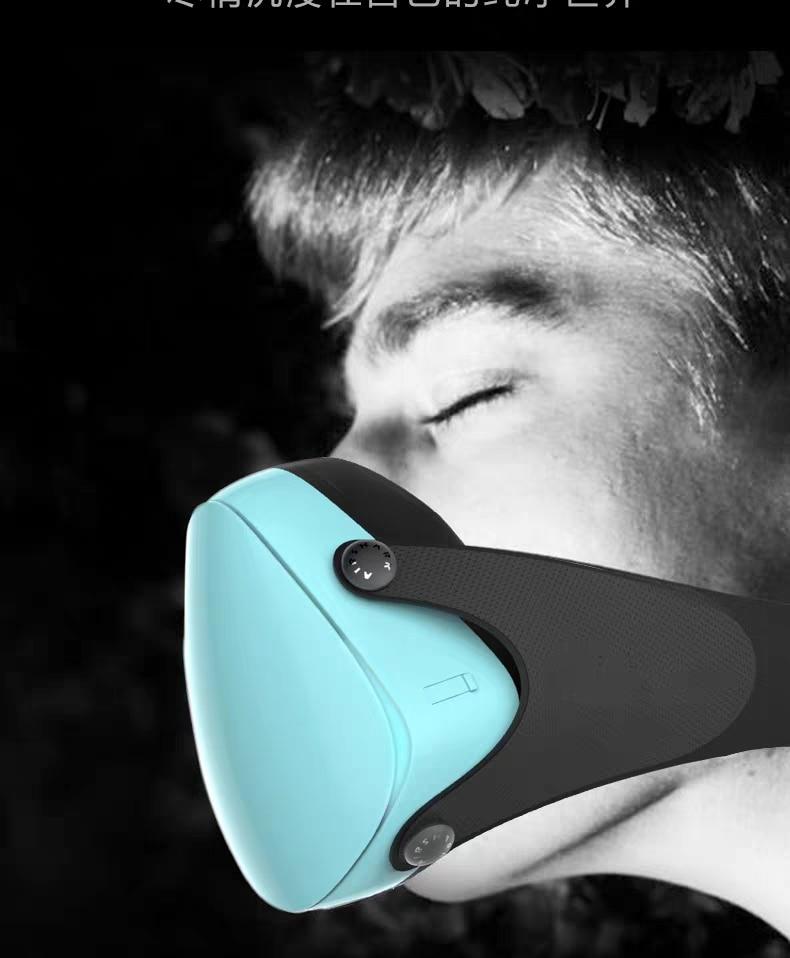 Reusable Mask Smart Electric Mask Anti Bacteria Dusk Face Mask Flu P2 Mask Anti Dust Pollution Facemask PM 2.5 Respiratory Flite